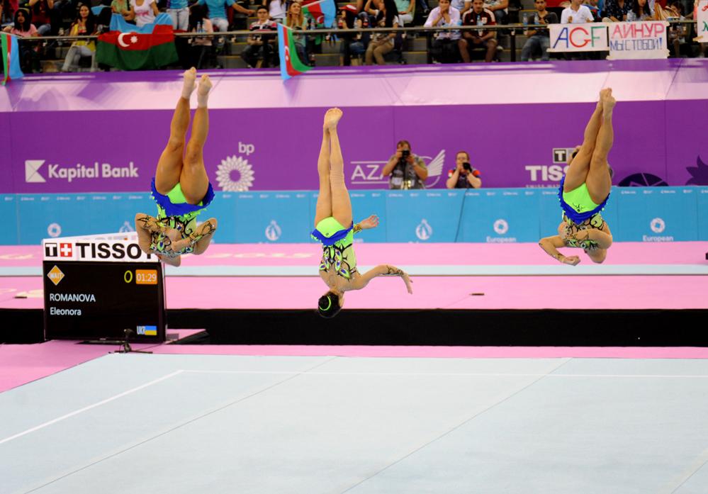 Avropa Oyunlarının birinci həftəsi fotolarda