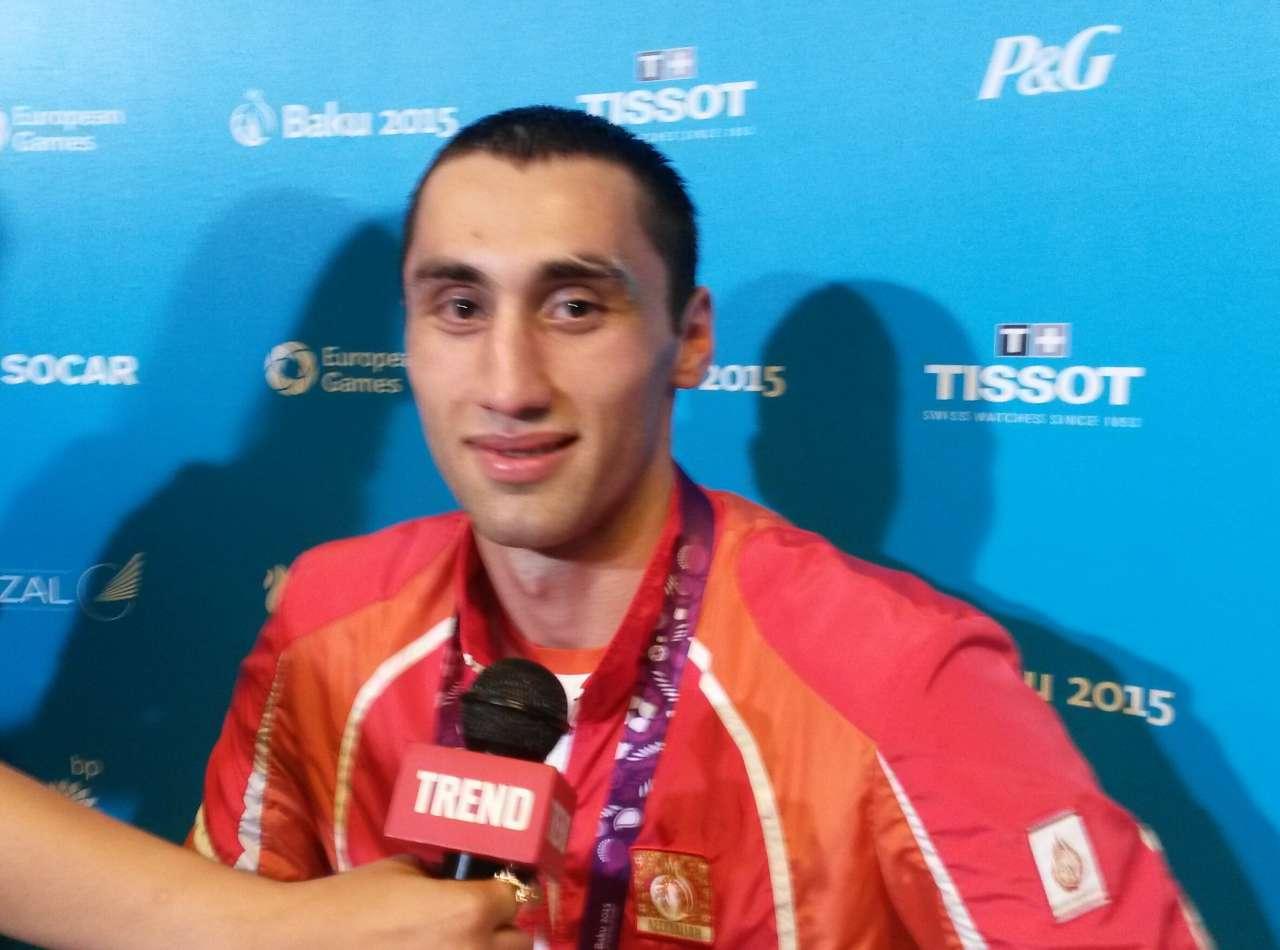 Имя моему первенцу даст дедушка – победитель Евроигр  Теймур Мамедов (ФОТО)