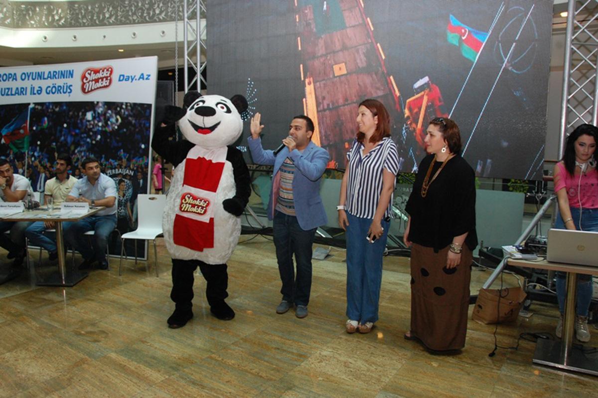 """""""Park Bulvar"""", """"Shokki Mokki"""" və """"Day.Az""""-ın təşkilati dəstəyi ilə Avropa Oyunları çempionlarının avtoqraf-sessiyası keçirildi (FOTO)"""