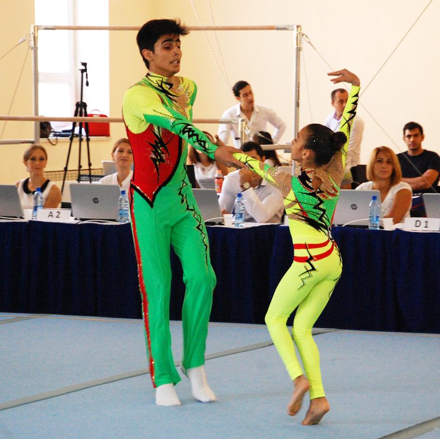 Akrobatika gimnastikası üzrə 22-ci Bakı çempionatı başa çatdı (FOTO)