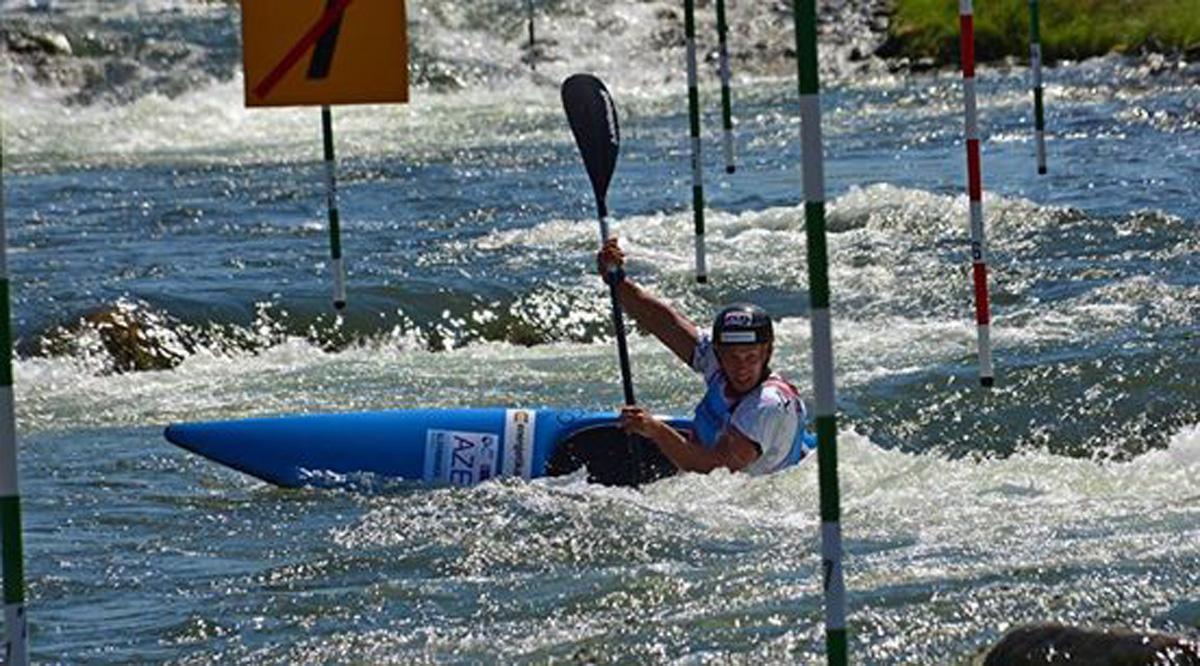Azərbaycan kanoe-slalom növündə ilk dəfə olimpiadaya lisenziya qazandı (FOTO)