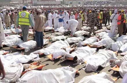 Mina'da izdihamda ölü sayı 753'e ulaştı