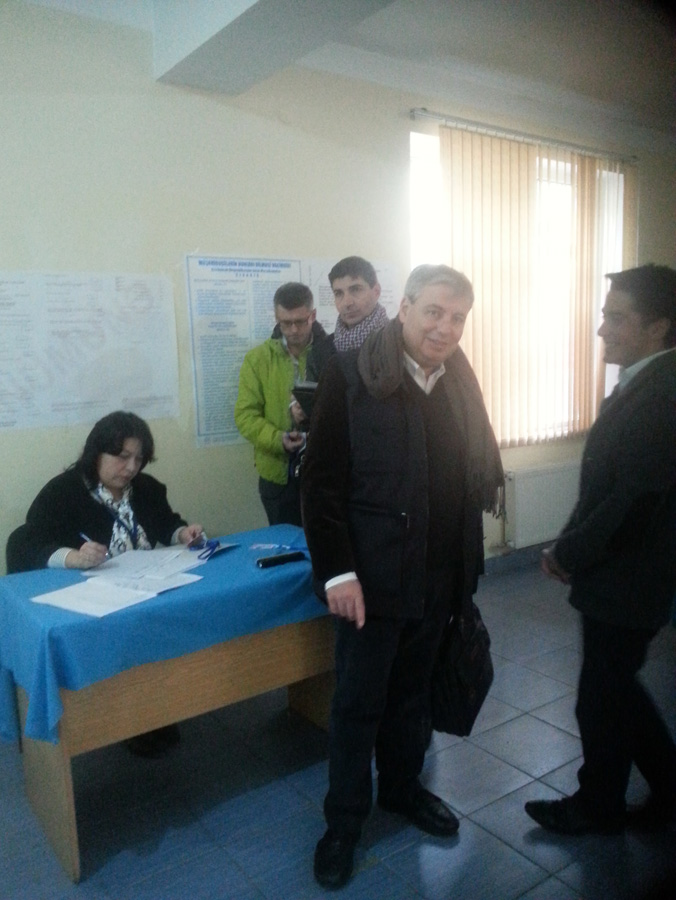 PACE mission observes parliamentary election in Azerbaijan (PHOTO)