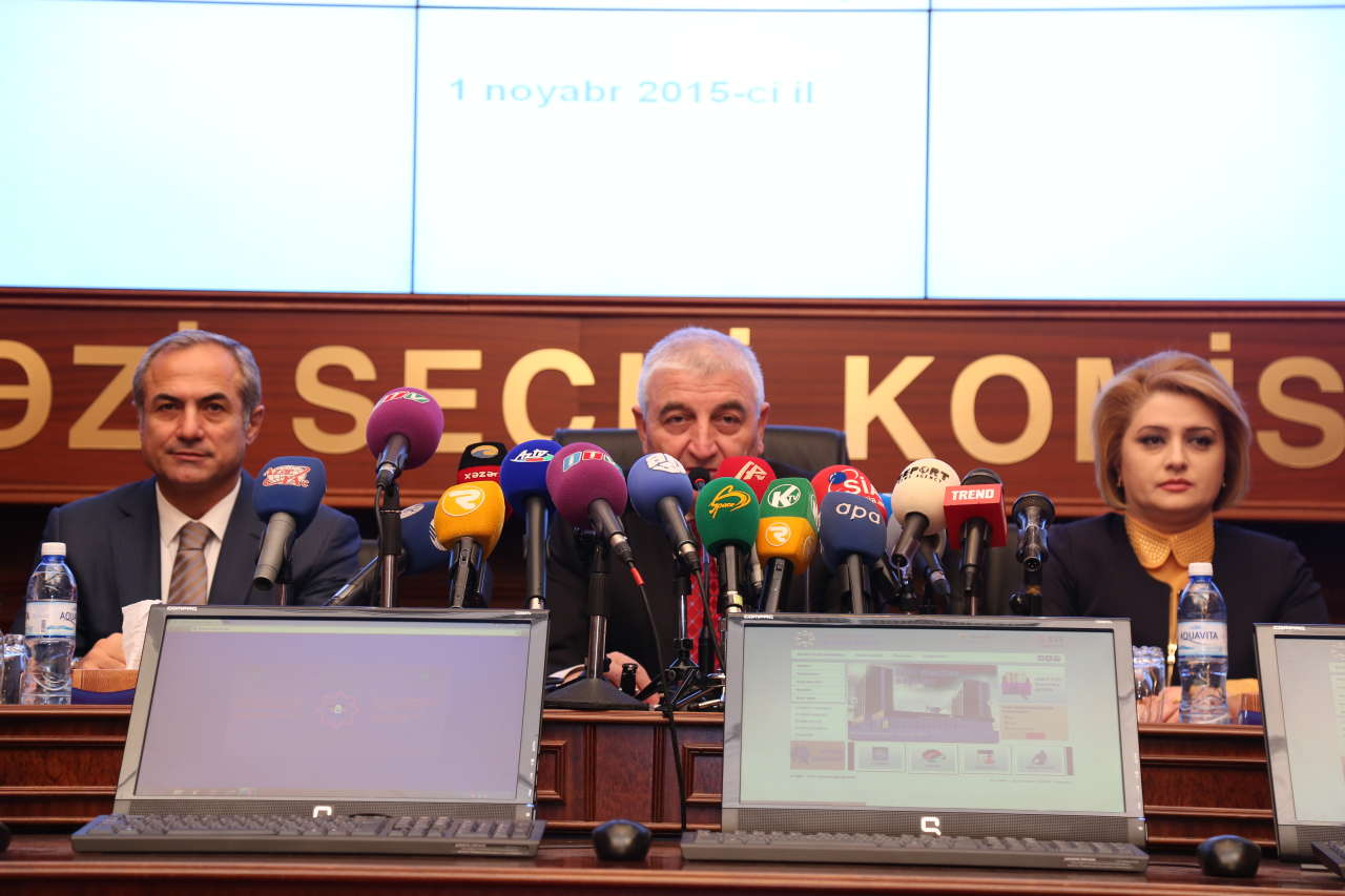 All conditions created for voting in Azerbaijani parliamentary election (PHOTO)