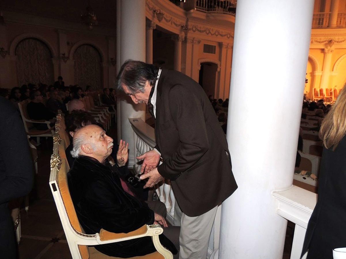 Гия Канчели в Баку – последний визит Маэстро... (ФОТО)