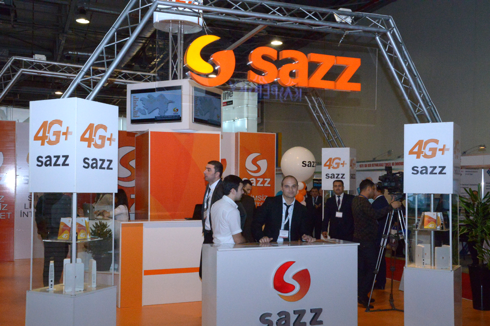 Sazz 4G demonstrated record data transmission speed (PHOTO)