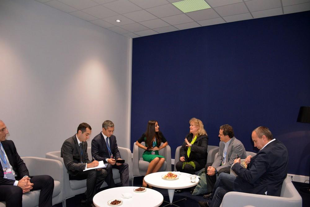 IDEA, REC discuss ways of expanding relations (PHOTO)