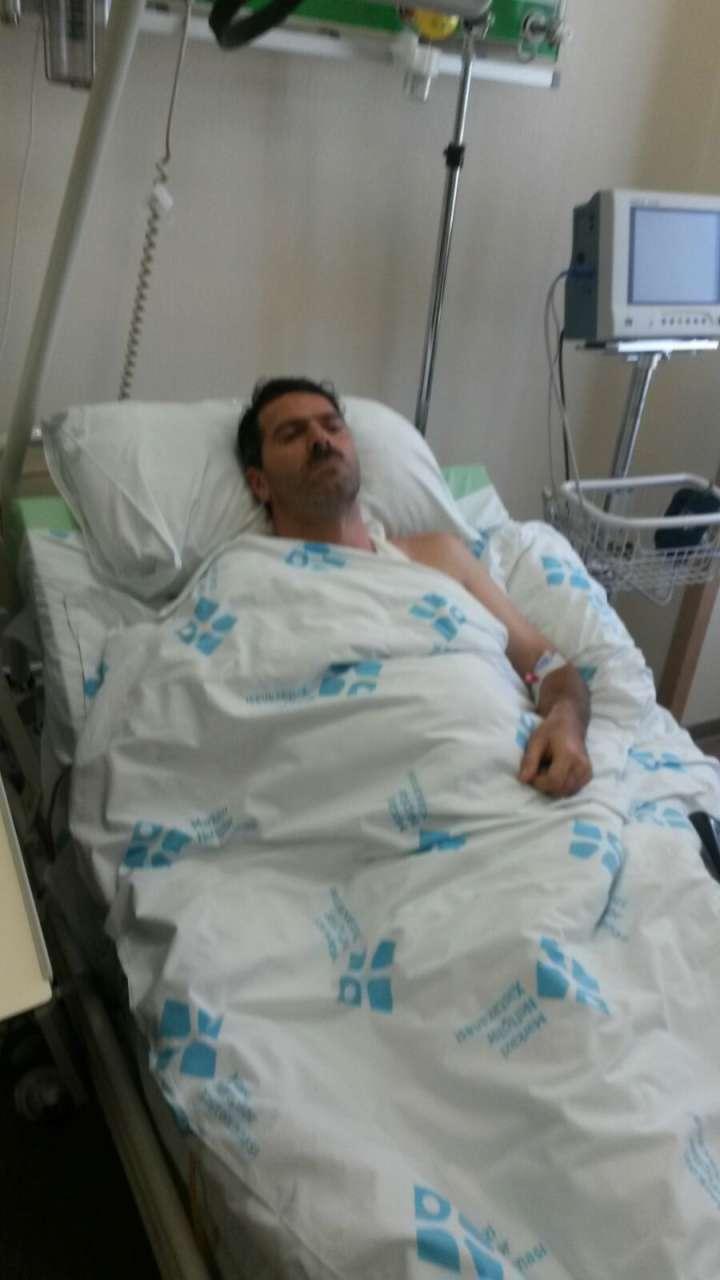 """Azerbaycan'daki """"Güneşli"""" petrol platformunda yangın sonrası yaralanan işçiler hastanelere getirildi (Foto Haber)"""