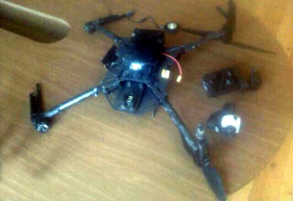 Azerbaijani military shoots down Armenian drone - defense ministry (PHOTO) (UPDATE)