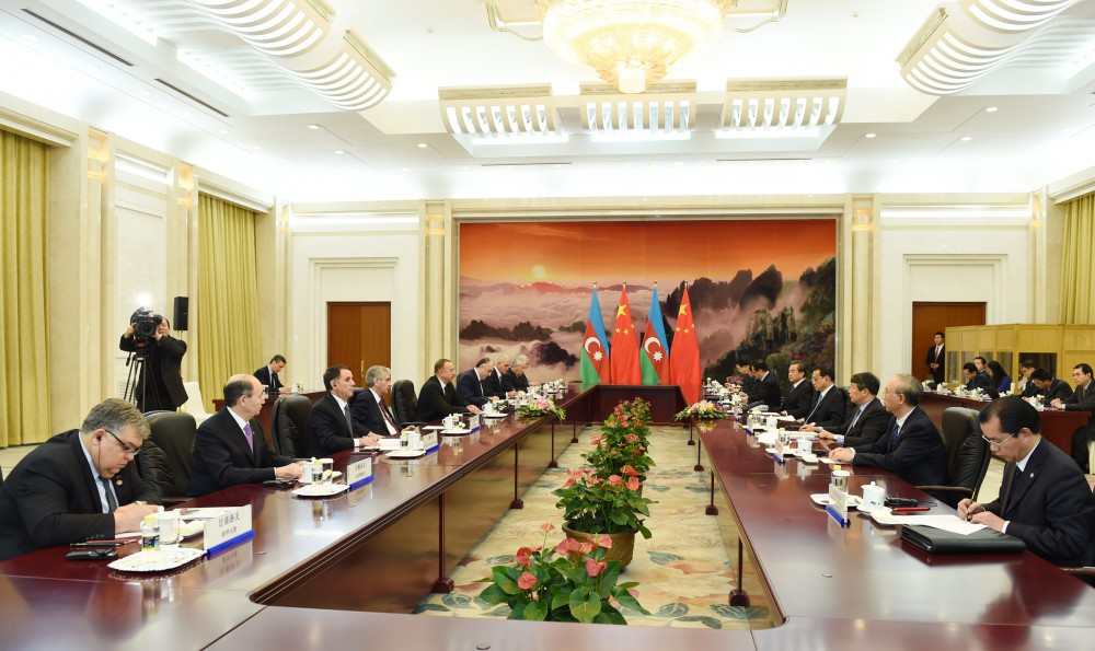 President Aliyev: Route through Azerbaijan can be shortest way to deliver Chinese products to Europe (PHOTO)