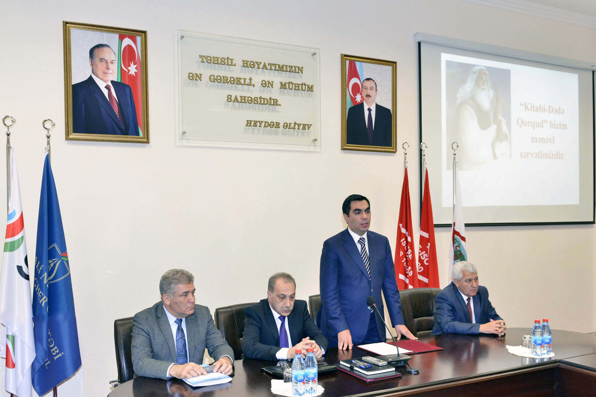 Baku Higher Oil School holds event dedicated to Kitabi- Dede Gorgud Epos