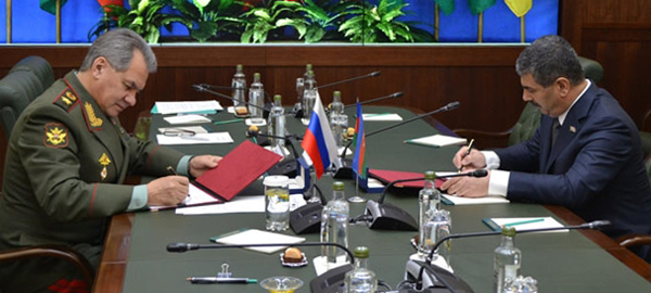 Azerbaijan, Russia sign military cooperation plan for 2016