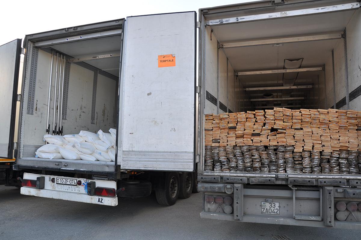 Azerbaijan sends humanitarian aid to Tajikistan (PHOTO, VIDEO)