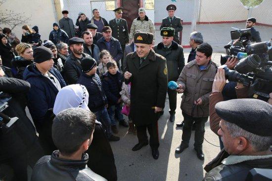 Execution of Azerbaijani president's order on pardon completed (PHOTO)
