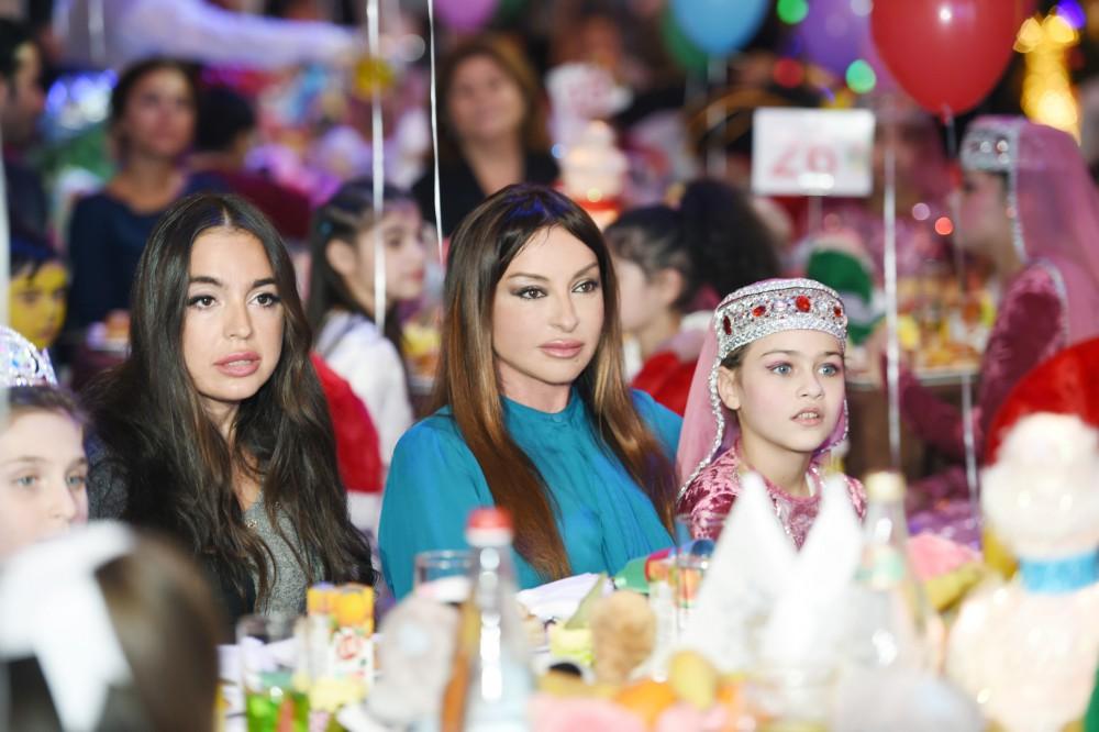 Heydar Aliyev Foundation arranges New Year party for children