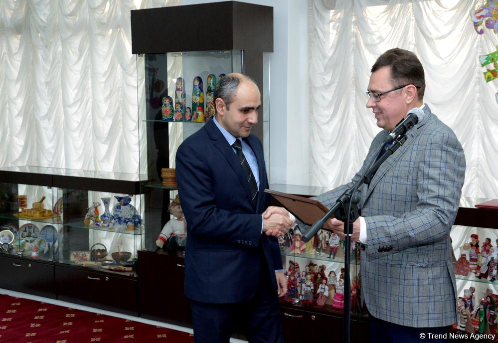 АМИ Trend награждено за вклад в российско-азербайджанское сотрудничество (ФОТО)