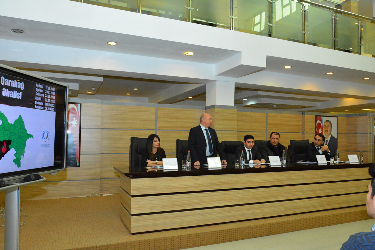 В Азербайджане презентован проект, посвященный Нагорному Карабаху (ФОТО)