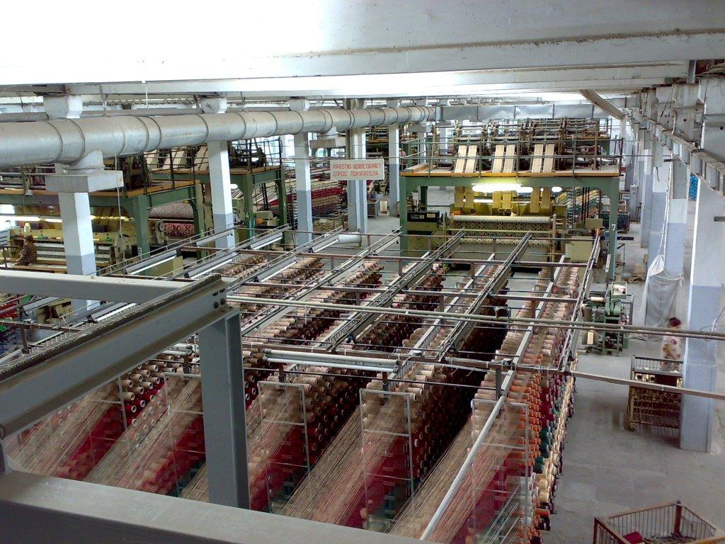 Turkmenistan Completes Carpet Factory Construction