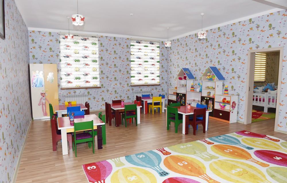 Президент Азербайджана принял участие в открытии детсада-яслей в Товузе (ФОТО)