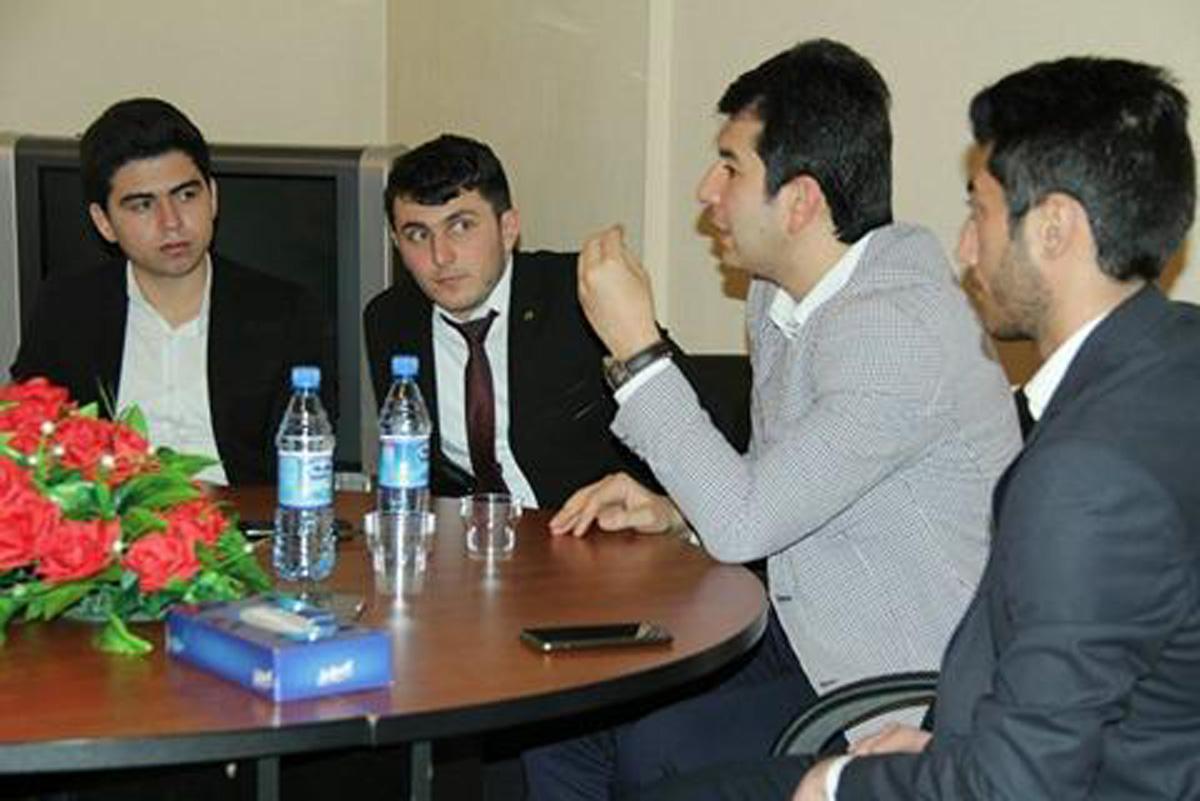 Телеведущий Салех Багиров провел интересный семинар для студентов (ФОТО)