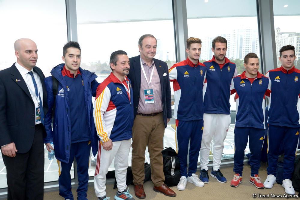 Испанские гимнасты рады выступать на соревнованиях в Баку - посол (ФОТО)
