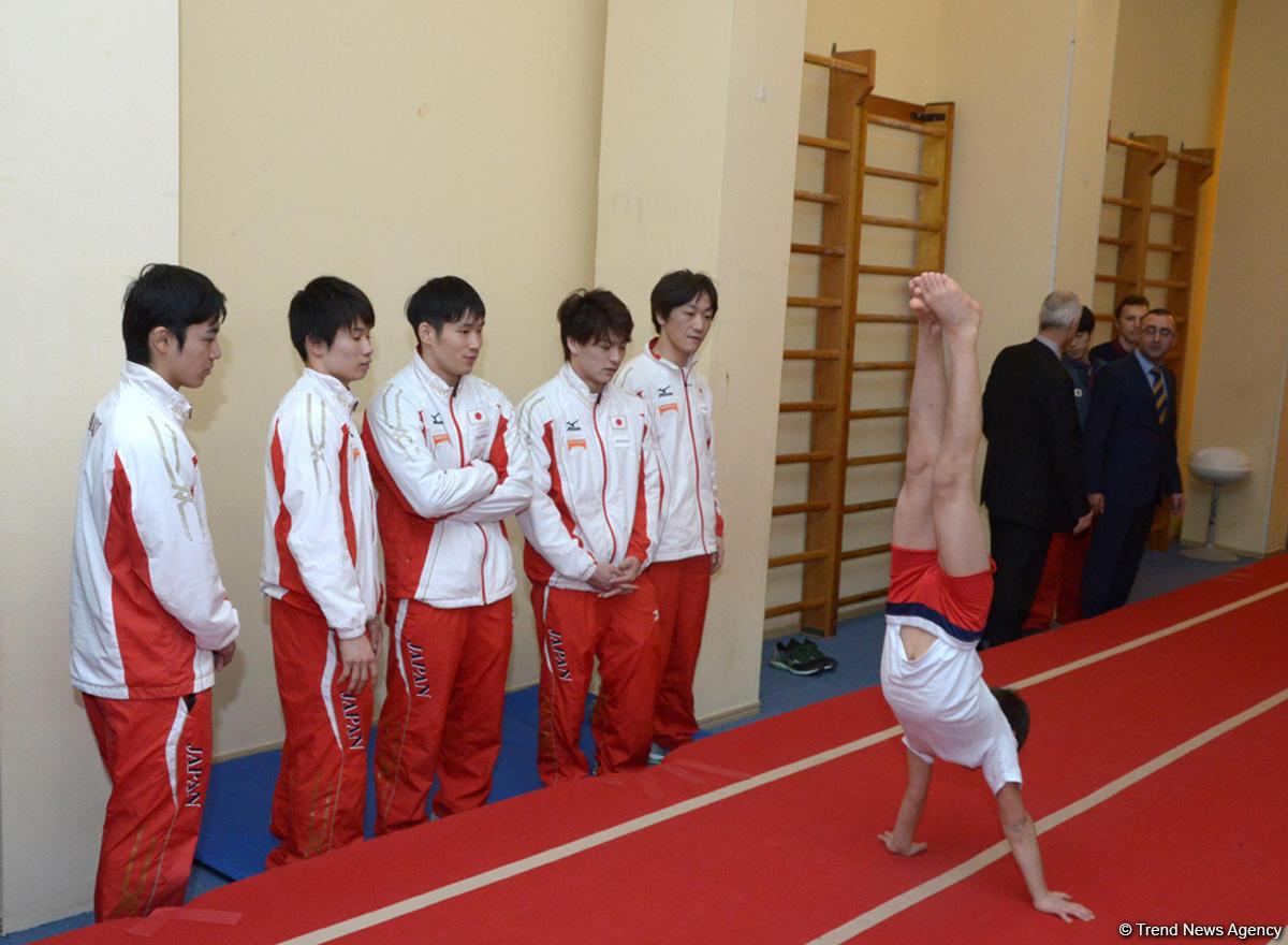 Yapon məşqçi: İxtisaslaşdırılmış məktəblərin olması Azərbaycanda gimnastikanın inkişafının göstəricisidir (FOTO)