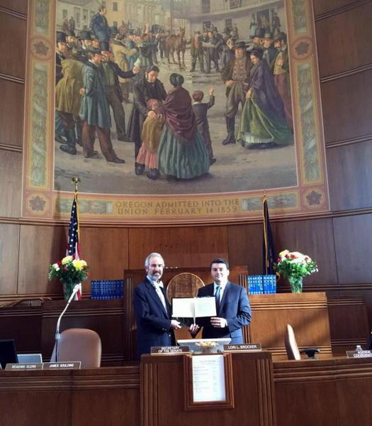 Конгресс американского штата Орегон одобрил модель толерантности Азербайджана (ФОТО)