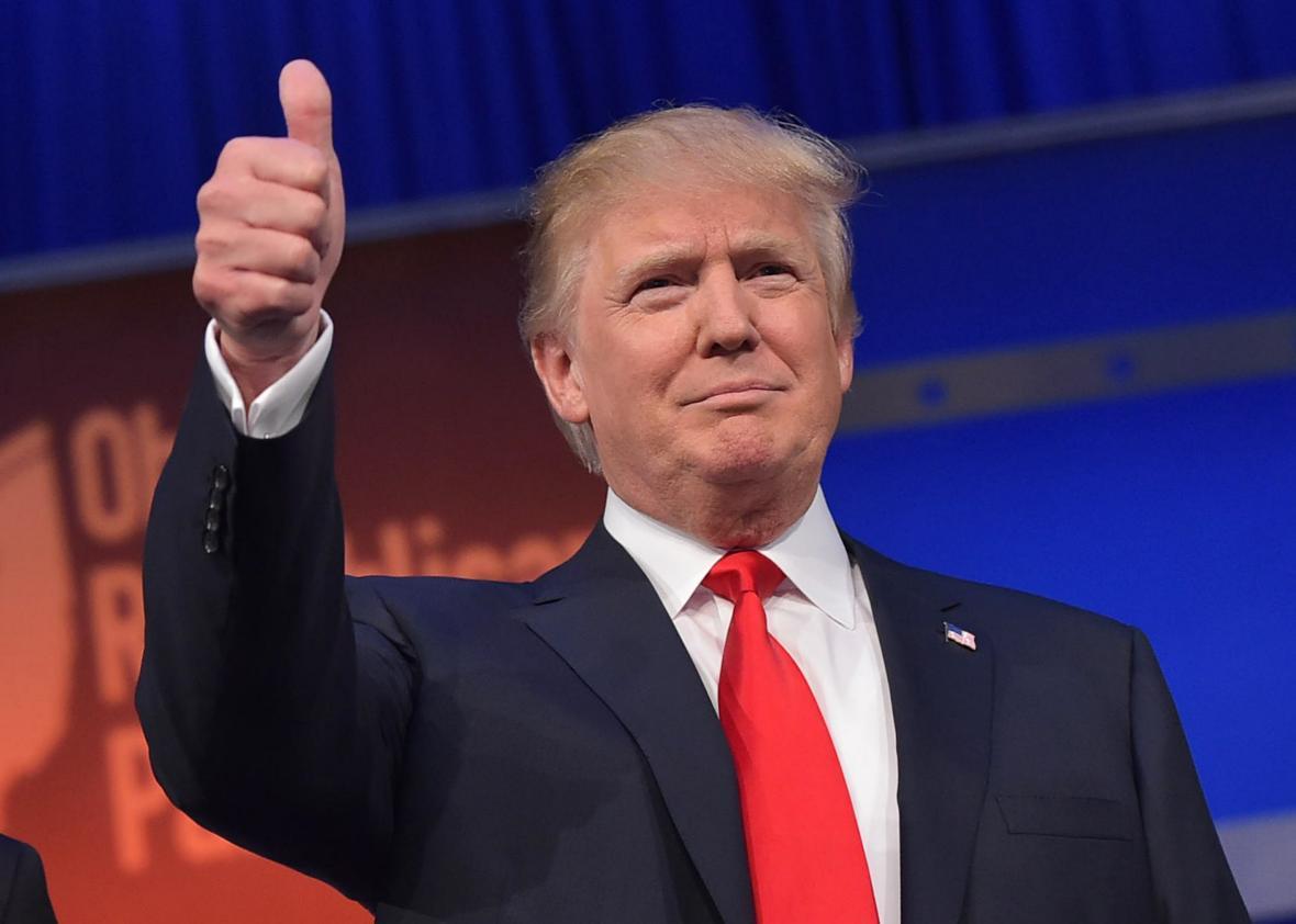 Доктор  Дональда Трампа заявляет , что упрезидента США хорошее здоровье