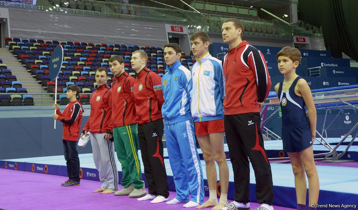 Прошла репетиция церемонии открытия этапа Кубка мира по прыжкам на батуте в Баку (ФОТОРЕПОРТАЖ)