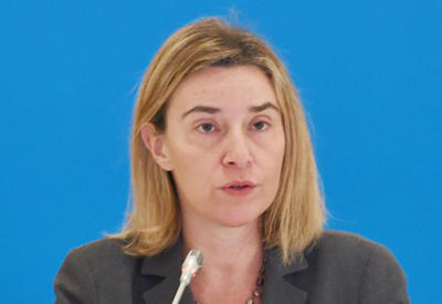 EU supports efforts to find peaceful solution to Karabakh conflict: Mogherini