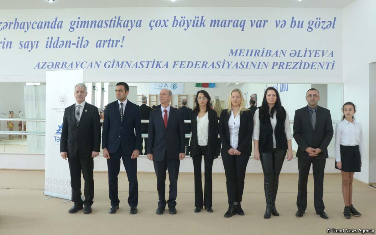 Bakıda bədii gimnastika üzrə II Açıq Təhsil Kuboku keçirilir (FOTO)