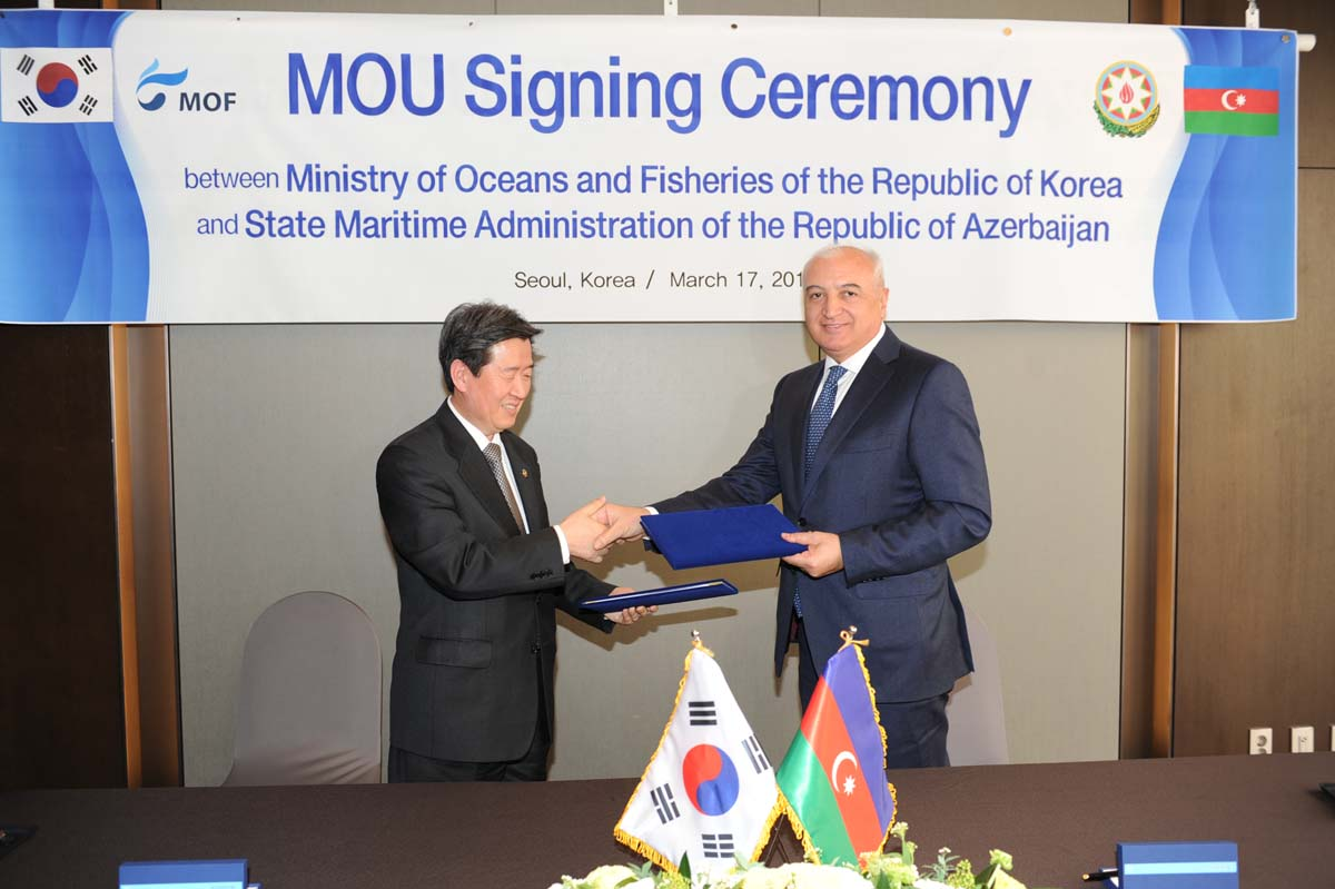 Azerbaijan, South Korea expanding co-op in maritime transport