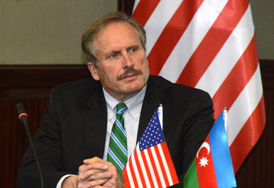 Azerbaijan gains importance as new commercial transportation corridor, says Ambassador Cekuta