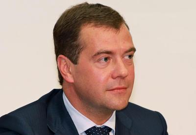 Dmitry Medvedev congratulates Novruz Mammadov on appointment as Azerbaijan's PM