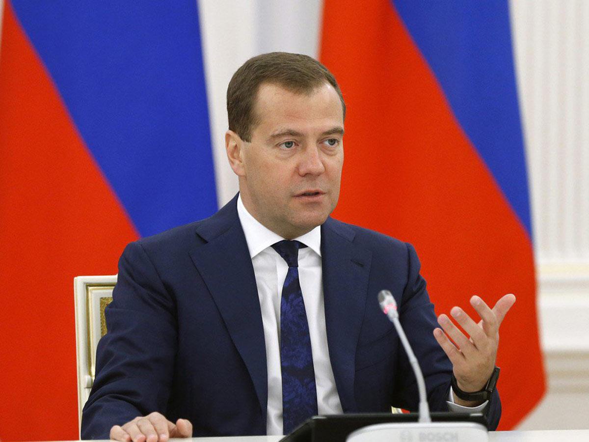 Медведев рассчитывает, что рост ВВП Российской Федерации порезультатам года превысит 2%