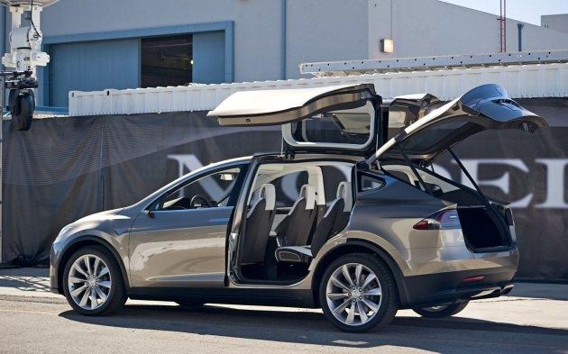 Tesla X satışa çıkıyor (Foto)