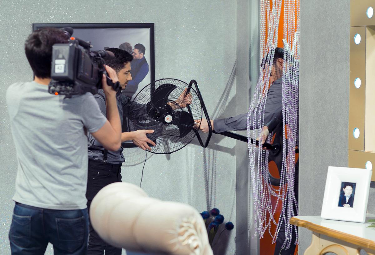 Дизайнер из Турции стал гостем азербайджанских телезвезд (ФОТО)