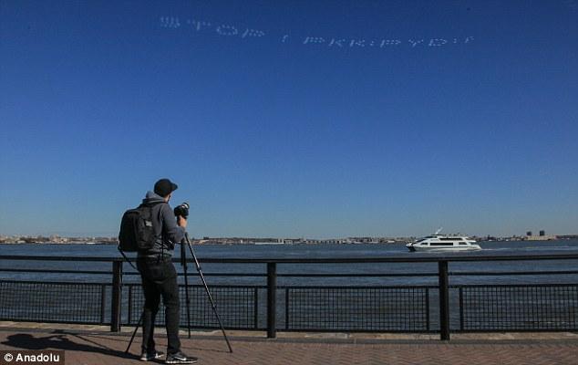 New York'tan  Türkiye'ye destek flashmob'u (Fotoğraf)