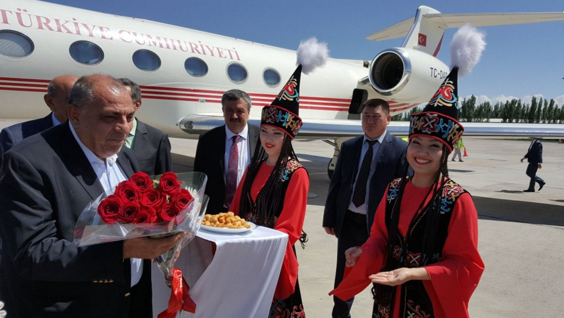 Başbakan Yardımcısı Türkeş Kırgızistan'da