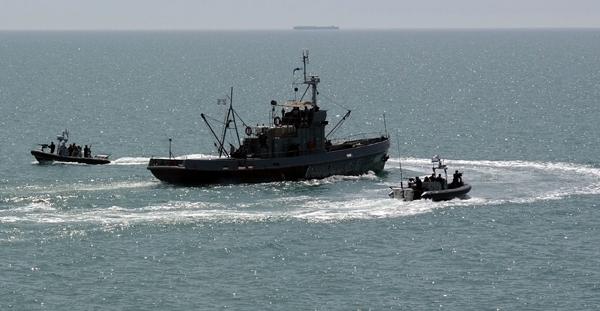 Azerbaycan Deniz Kuvvetleri Hazar Denizi'nde tatbikat yaptı (Fotoğraf)