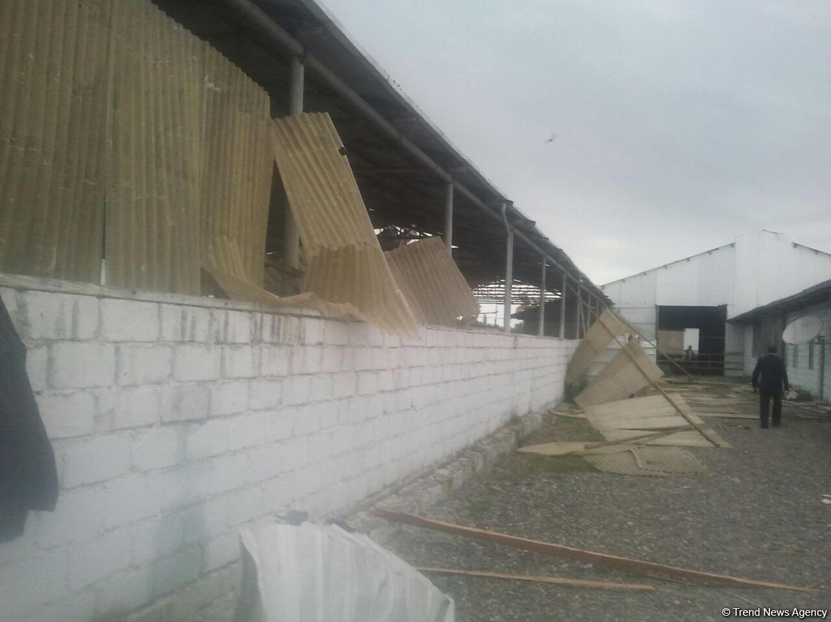 Ermenilerin top atışı sonucu tahrip Azerbaycan Evoğlu köyü (Fotoğraf)