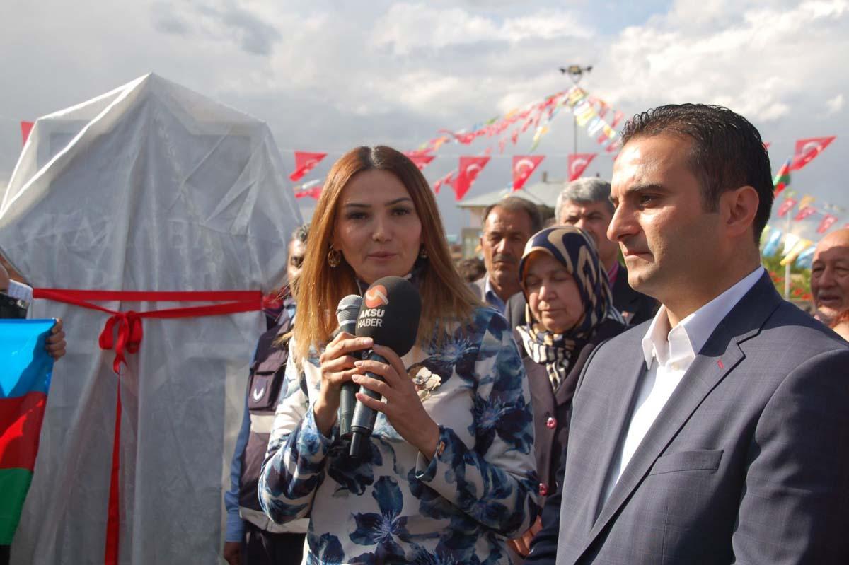 Afşin'de Karabağ Parkı açıldı