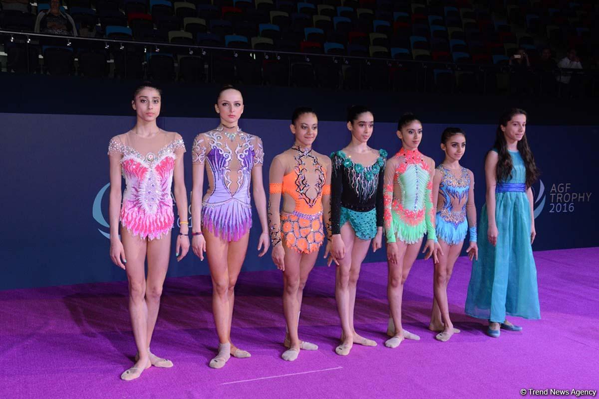 Завершился первый день соревнований XXIII Чемпионата Азербайджана по художественной гимнастике (ФОТО)