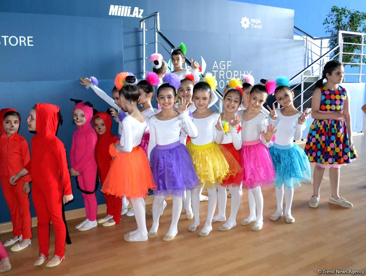 В уникальной Национальной Арене Гимнастики Азербайджана (ФОТО)