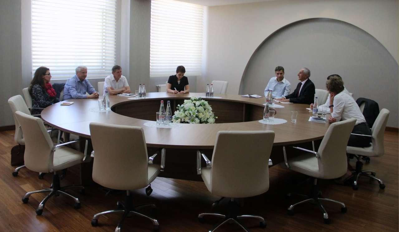 Azərbaycan Velosiped İdmanı Federasiyasında görüş (FOTO)