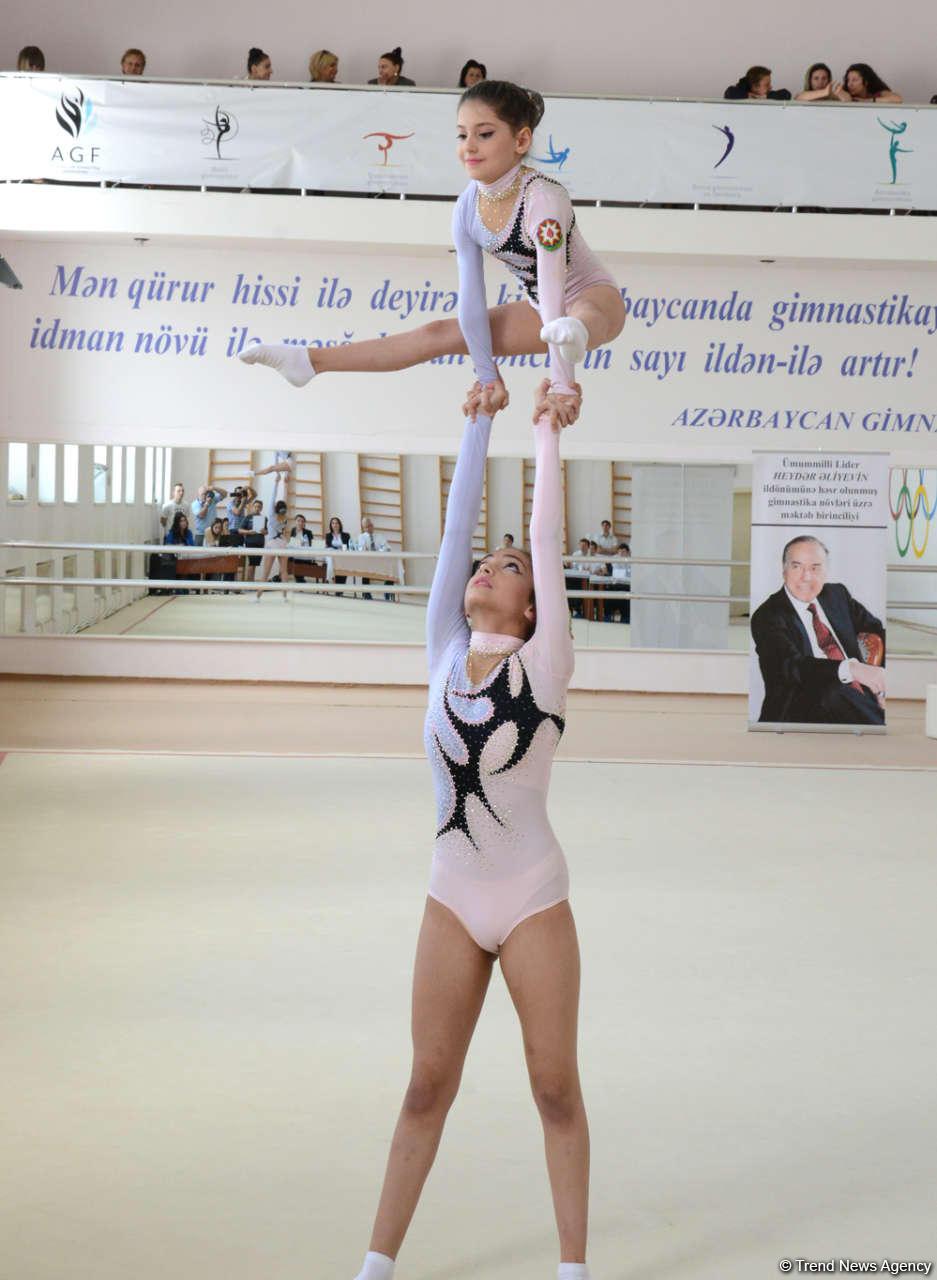 Bakıda akrobatika üzrə açıq birincilik start götürdü (FOTO)