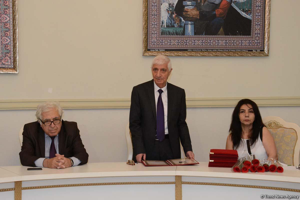 Rəsul Rza adına mükafatların təqdimat mərasimi keçirilib (FOTO)