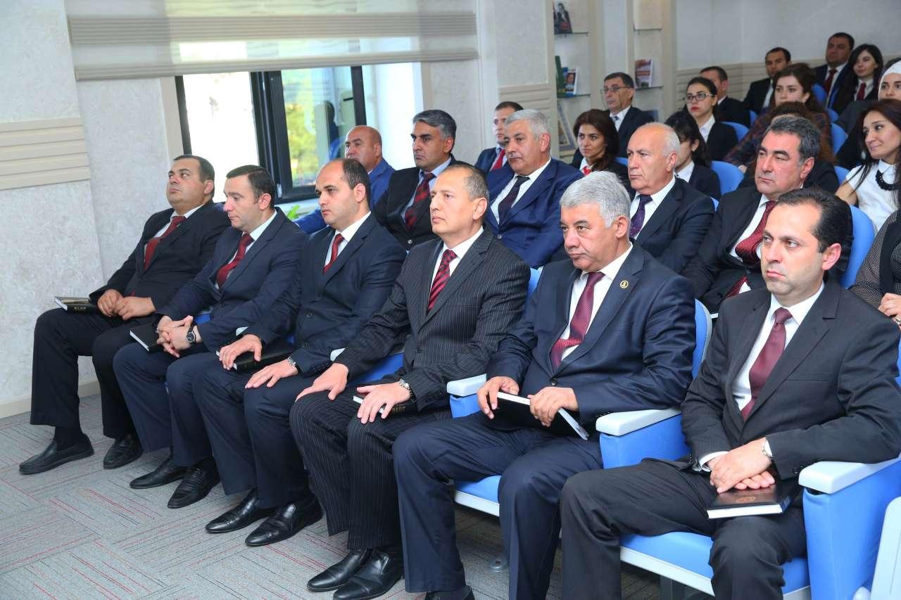 Azərbaycan Xalq Cümhuriyyətinin yaranmasının 98-ci ildönümünə həsr olunmuş məlumat saatı keçirilib (FOTO)