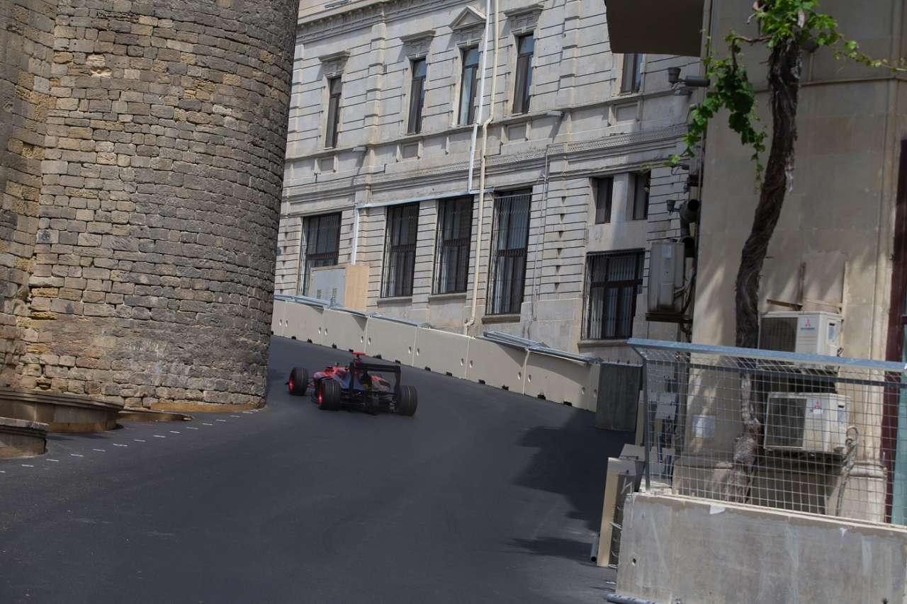 Bakü Formula 1 Avrupa Grand Prix'i için geri sayım başladı