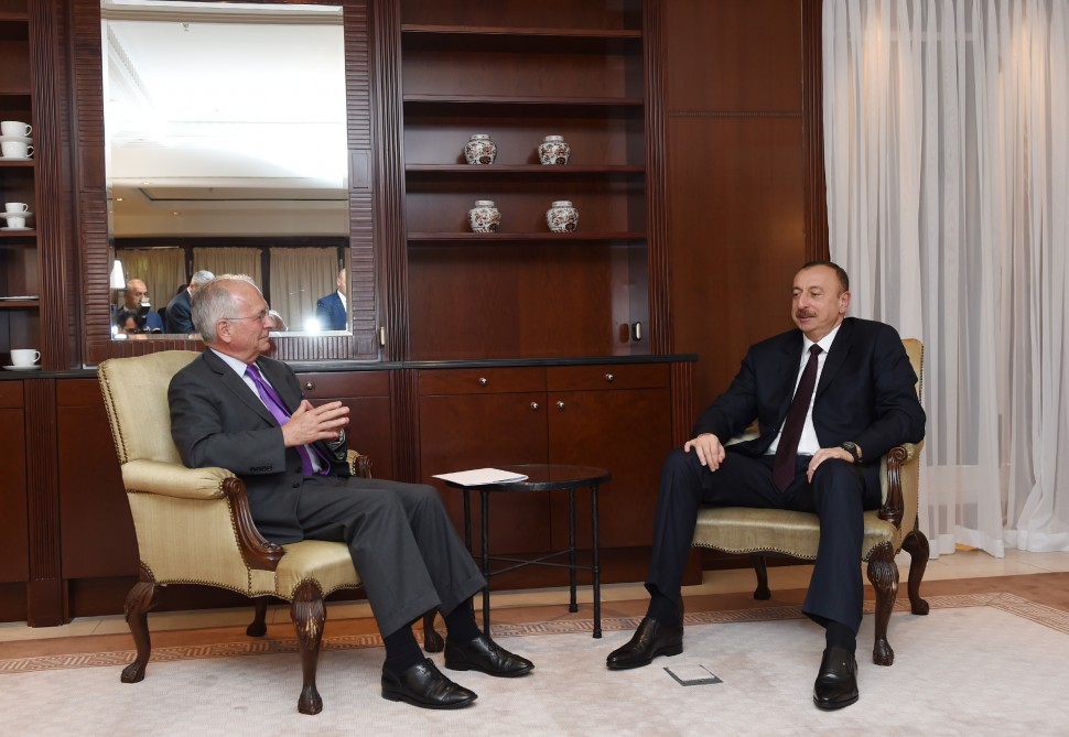 President Ilham Aliyev meets with chairman of Munich Security Conference